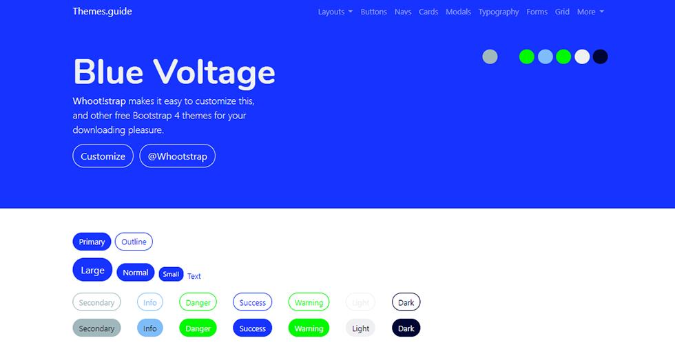 blue voltage